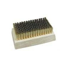 Stainless Steel Fine Filament Block Brush (Set of 2)