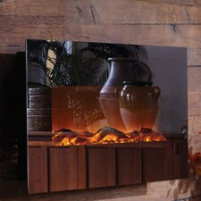 Mirror Onyx™ Wall Mount Electric Fireplace