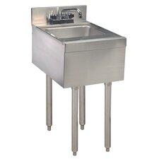 "12"" x 21"" Single Hand Sink, Underbar"