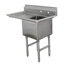 Single Fabricated Bowl Scullery Sink