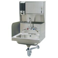 "17.25"" x 15.25"" Single Hand Sink"
