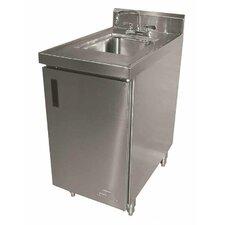"""30"""" x 18"""" Single Wall Mounted Hand Sink Cabinet with Faucet"""