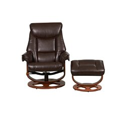 Capri Swivel Recliner and Footstool