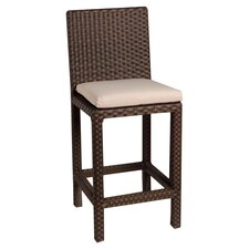 "Martinique 28"" Bar Stool with Cushion (Set of 2)"