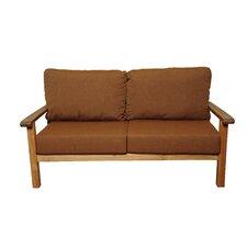 Amazonia Teak San Marcos Teak Sofa with Sunbrella Cushions
