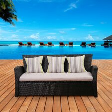Atlantic Biscayne Sofa with Cushions
