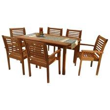 Amazonia 7 Piece Dining Set