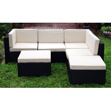 Montecarlo Sectional Sofa with Cushions