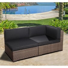 Miami Atlantic Middle Sectional Seat with Cushions