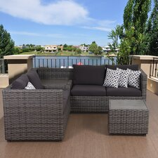 Atlantic Cameron 3 Piece Sectional Seating Group with Cushion