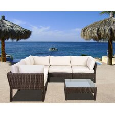 Atlantic St. Etienne 6 Piece Seating Group with Cushion