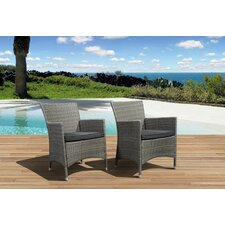 Atlantic Liberty Deluxe Arm Chair with Cushion (Set of 2) (Set of 2)