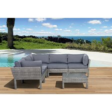 Pacific 6 Piece Deep Seating Group with Cushions