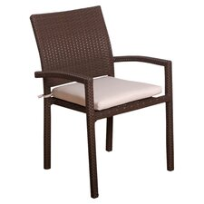 Atlantic Dining Arm Chair with Cushion (Set of 4)