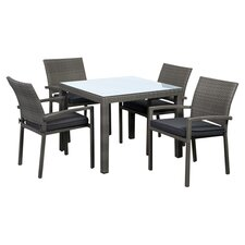 Atlantic Liberty 5 Piece Dining Set with Cushions
