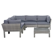 Pacific 6 Piece Seating Group with Cushions