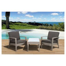 Atlantic Java 3 Piece Seating Group with Cushions