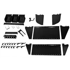 Slotted Tool Board Workstation Accessory Kit