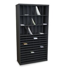 Mailroom Horizontal/Vertical Sorter with 69 Pockets