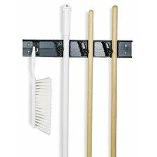 Roll 'N Grip™ Plastic Broom Holder System (Set of 12)