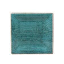 """Grove 8.5"""" Melamine Square Dinner Plate (Set of 12)"""
