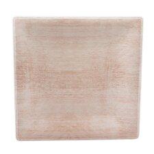 """Grove 10.5"""" Melamine Square Dinner Plate (Set of 12)"""