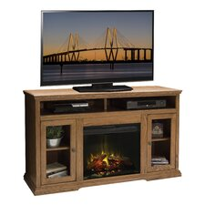 Colonial Place TV Stand with Electric Fireplace