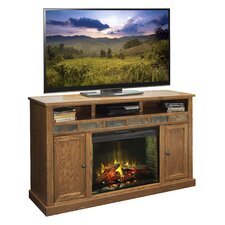 Oak Creek TV Stand with Electric Fireplace