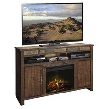 Old West TV Stand with Electric Fireplace