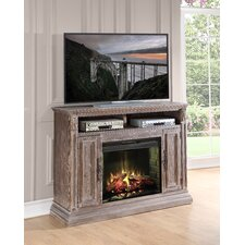 Estancia TV Stand with Electric Fireplace
