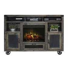 Cargo TV Stand with Electric Fireplace