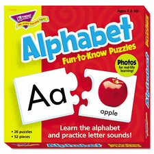 Fun To Know Alphabet Puzzles Letters