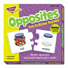 Fun To Know Opposites Puzzles Letters