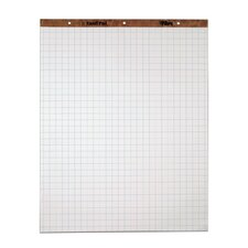 """15 lbs 1"""" Squares 3 Hole Punched Easel Pad (Set of 4)"""