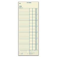 Manila Bi Weekly Time Card (Set of 600)