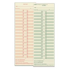 Manila Semi Monthly Time Card (Set of 500)