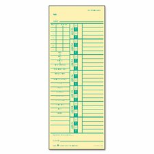 Time Card for Acroprint and Simplex (Set of 500)