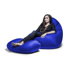 Nimbus Bean Bag Lounger and Ottoman