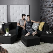 Zipline Modular Sofa and Ottoman
