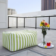 Jaxx Striped Outdoor Ottoman