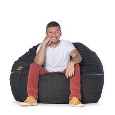 Denim 4' Bean Bag Chair