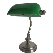 "Simple Designs 9.16"" H Table Lamp with Rectangular Shade"