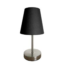 "Simple Designs Mini Basic 10.5"" H Table Lamp with Empire Shade"