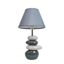"Simple Designs 14.04"" H Table Lamp with Empire Shade"