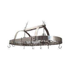 Elegant Designs 2 Light Kitchen Pot Rack