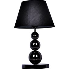 "Elegant Designs Three Tier Ball 19.29"" H Table Lamp with Empire Shade"