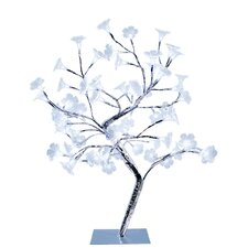 "Simple Designs Morning Glory Decorative Tree 17.72"" H Table Lamp"