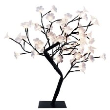 "Simple Designs Decorative Cherry Tree 23.62"" H Table Lamp"