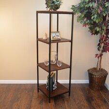 """Megan 60"""" Accent Shelves Bookcase"""