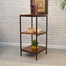 """Megan 30"""" Accent Shelves Bookcase"""